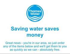 FREE money saving gadgets from Thames Water (incl. new shower heads etc.)
