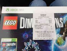 Lego Dimension starter pack xbox version £3.49 at Tesco Huntingdon instore with voucher