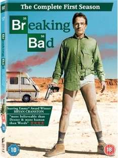 [DVD] Breaking Bad Season 1 - £1.11 / The Inbetweeners: Series 1-3 - £1.69 / Band of Brothers - £4.00 (20% off ALL Replay music, films, games & books using code BF20) - Music Magpie