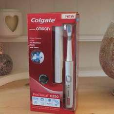 Colgate ProClinical C250 ultrasonic toothbrush £17.99 instore at Asda (normally £70)