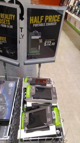 PNY powerbank 10400 MAH £12.49 @ carphonewarehouse