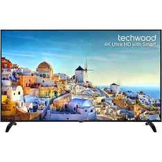 """Techwood 65AO4USB 65"""" Smart LED 4K Ultra HD Freeview HD TV £539 Delivered (Also possible £26.95 worth of nectar points) @ AO / eBay"""
