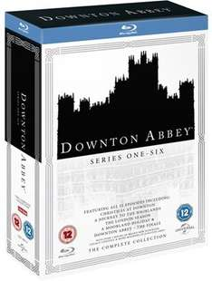 Downton Abbey The Complete Collection Blu-Ray £29.97 @ Music Magpie but as I know some people don't wish to use them it is £29.99 with Free Delivery @ Amazon and HMV