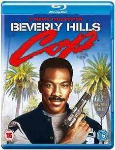Beverly Hills Cop 1-3 Blu Ray Collection £4.50 @ Zoom