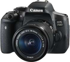 CANON EOS 750D DSLR Camera with EF-S 18-55 mm f/3.5-5.6 IS STM Zoom Lens now £549 @ PC World
