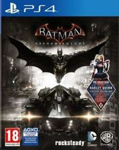 Batman Arkham Knight ps4 £8.47 preowned @ Music magpie with free delivery