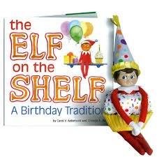 elf on the shelf birthday tradition £4 @ the works - Free c&c