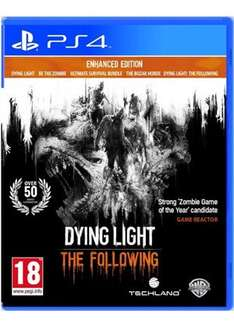 Dying Light: The Following - Enhanced Edition (PS4/XO) - £13.69 Delivered @ Base (10% Cashback)