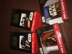 Star Wars mugs/dinner sets £1.99 in store @ Clinton Cards