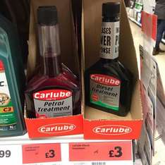 Carlube petrol and diesel treatment was £4 now £3 at Sainsburys