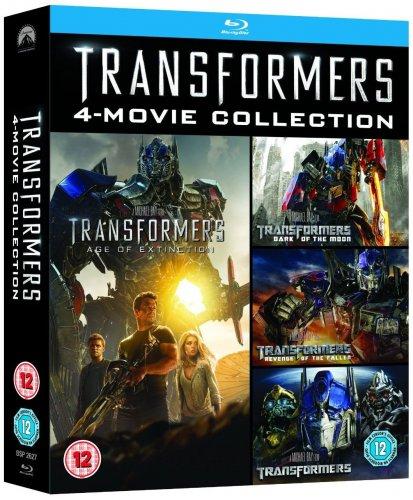 Transformers 1 - 4 Blu Ray Boxset 9.79 Prime / £11.78 Non Prime @ Amazon