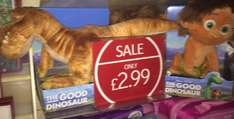 Disney palace pets/good dinosaur £2.99 instore @ Clinton Cards