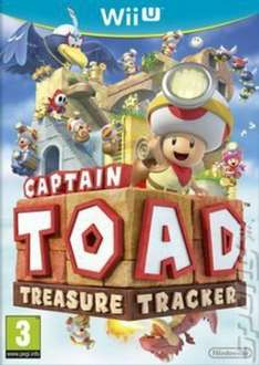 Captain Toad: Treasure Tracker [Wii U] Original Cover £11.92 Pre owned @ Music Magpie