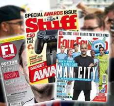 12-Month Subscription to F1 Racing, Stuff or FourFourTwo save 52% @ Living Social