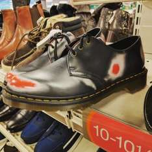 Doc Marten rub off shoes