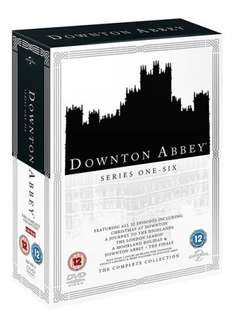Downton Abbey: The Complete Collection DVD Boxset £19.80 with free delivery @ zoom.co.uk using code SIGNUP10.