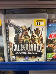 Call Of Juarez: Bound In Blood (PS3) £1 @ GAME instore (Cambridge)