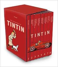 The Tintin Collection for £36 @ Amazon