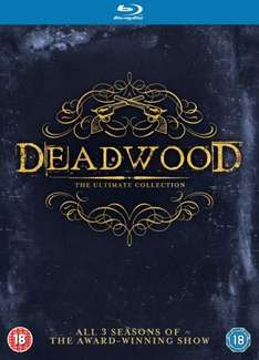 Deadwood complete seasons 1-3 [Blu-ray] box set £10.80 @ Zoom using code