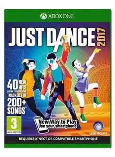 Just Dance 2017 (Xbox One) & (PS4) £24.99 Delivered @ Amazon Also Xbox 360, Wii U & PS3 £19.99 (Need Prime For Free Delivery)