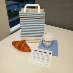 FREE COFFEE & CROISSANT - COJEAN LUDGATE HILL LONDON
