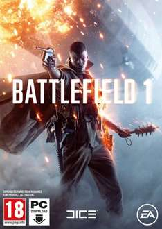 Battlefield 1 PC Origin £29.99 @ Amazon