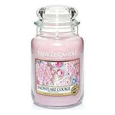 Yankee Candle Large Jar Candle - Snowflake Cookie £13.79  (Prime) / £18.54 (non Prime) @ Amazon