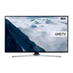 Samsung 55 inch UE55KU6020 HDR 4K Ultra HD Smart TV,With FREE 5 year warranty,FREE delivery,£599 @ John Lewis