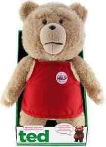 "TED 16"" in Apron Plush with Sounds £2.50 (£4.50 Delivered) forbiddenplanet"