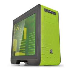 Thermaltake Core V51 Riing Edition Midi Tower Gaming Chassis with Side Window - Black/Green £79.02 @ Amazon