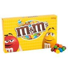 M&M's Peanut Gift Box 365G  Half Price £1.50 @ Tesco