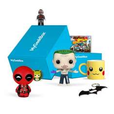 FREE WELCOME BOX WITH MY GEEK BOX LITE SUBSCRIPTION £9.99