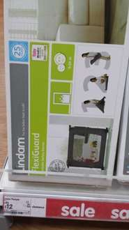 Lindam portable flexiguard safety barrier was £20 now £12 @ Asda living (Leeds)