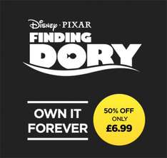 ENJOY DISNEY PIXAR'S FINDING DORY  IN STUNNING HD!  £6.99 48 Hours Only @ Wuaki.tv