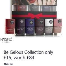 nails inc £84 to £15 with o2 priority.