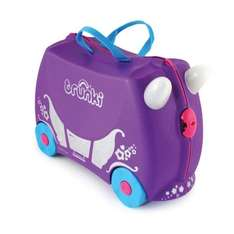 Keep refreshing for restock! Only £10 Trunki Princess Penelope Carriage Ride On Hand Luggage Suitcase For Children £12.99 delivered @ Halfords / ebay