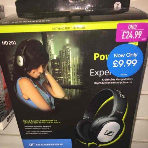 sennheiser HD201 headset £9.99 @ game instore - Wakefield