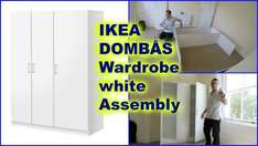 Who could say no to a 'Dombas' Cupboard - Dombas wardrobe at Ikea for £59