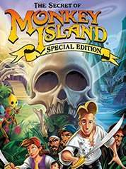 The Secret of Monkey Island: Special Edition 89p / Indiana Jones® and the Fate of Atlantis™ / and the Last Crusade 60p Each (Steam) (Using Code) @ Greenman Gaming