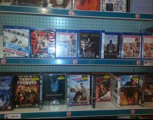 various Blu Rays £1 at Poundland (Wakefield)