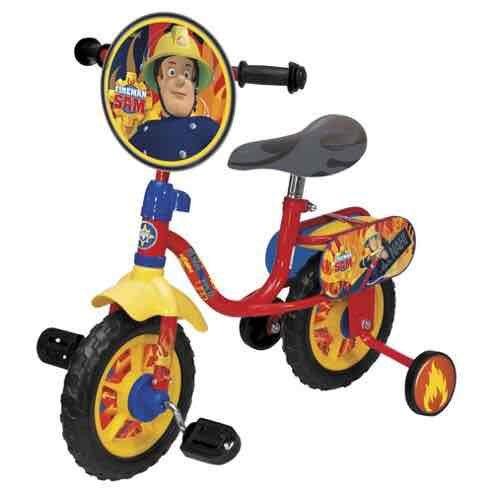 "OVER HALF PRICE OFF Fireman Sam 10""  for ages 2+ bike £25 @ tesco"