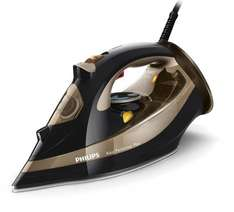 Philips GC4527/80 Azur Performer Plus Steam Iron with 220 g Steam Boost, 2600 W - Black and Gold £34.99 @ Amazon