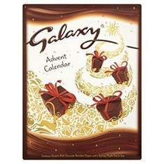 Galaxy Milk Chocolate Advent Calendar 110g (Pack of 11) For £9.99 Via Amazon
