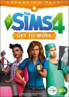 Sims 4 Get to Work Expansion Pack (PC Code - Origin) £7.99 @ Amazon