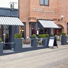 £30 Cote Brasserie gift cards nationwide for £20 (specific accounts) @ AMEX offers