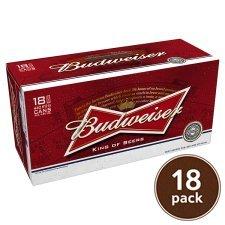 Budweiser 18x440ml £12 @ Tesco