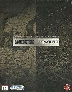 The Pacific/Band of Brothers Blu-ray set 24.99 @ Amazon