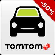 TomTom Google Play app 50% discount on 12 months unlimited navigation £7.49p