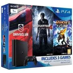 PS4 1tb slim 3 games two months now tv movies pass £249.99 @ Game