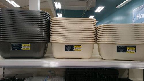 Tesco washing up bowl reduced 50p instore @ tesco